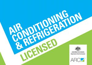 ARC Air Conditioning and Refrigeration Licence